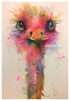 by Sarah Weyman. [Watercolor]
