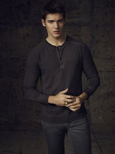 "The Vampire Diaries S4 Steven R. McQueen as ""Jeremy Gilbert"""