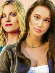 Clexa fandom fanart eliza jane taylor cotter alycia jasmin debnam carey the 100 beautiful them eyes tho