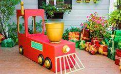 Colin Ferguson's DIY Cardboard Train - Home & Family