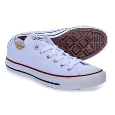 Converse All Stars White Ox Shoes (White)