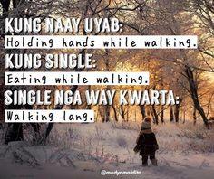 Credits to Medyo Maldito Tagalog Quotes Hugot Funny, Funny Qoutes, Bisaya Quotes, Hugot Lines Tagalog, Giving Up Quotes, Cute Korean Boys, Pinoy, Haha, Poems