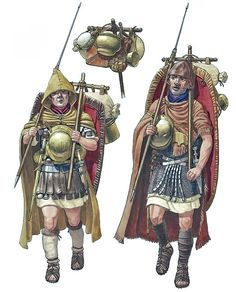 """""""Legionaries marching, Teutoburg Forest 9 AD"""" by Andreas Gagelmann"""