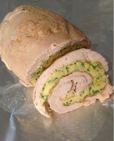 ElcoBlog: Диетические Рецепты: Куриный Рулет. Низкокалорийное белковое блюдо.