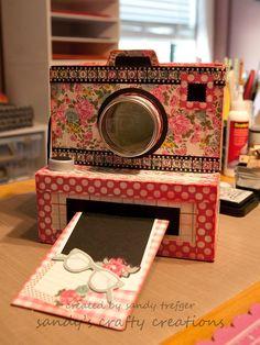 Click! My Camera Mini Album Box » Sandy's Crafty Creations