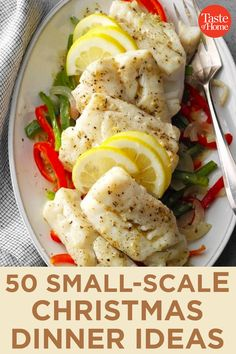 50 Small-Scale Christmas Dinner Ideas Main Dishes, Side Dishes, Spinach Stuffed Mushrooms, Test Kitchen, Roasted Chicken, Weeknight Meals, Entrees, Dinner Ideas, Scale
