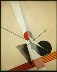 Composition A XXI  Laszlo Moholy-Nagy  Completion Date: 1925
