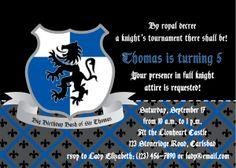Medieval Knight Birthday Party