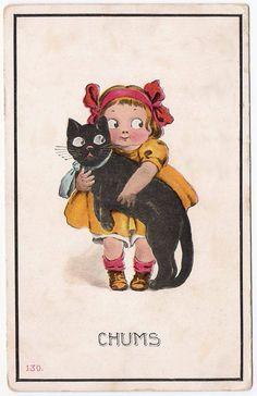 Vintage Halloween games | Halloween Postcards