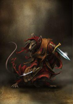 pathfinder ratfolk rogue - Google Search