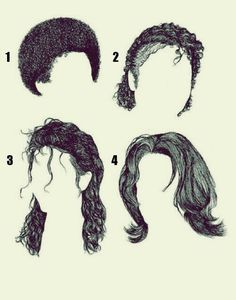 Hairstyles through the years