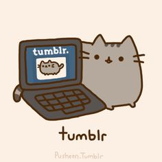 Pusheen is a tubby tabby cat who brings smiles and laughter to people all around the world! Pusheen Love, Pusheen Cat, Pusheen Stickers, Grey Tabby Cats, Nyan Cat, Kawaii Cat, Animal Quotes, Cute Illustration, Cat Life