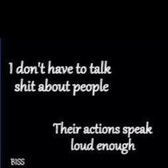 Amen! I don't need to talk shit because they already do it about eachother. :) #aintgotnotimeforthat