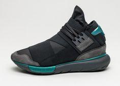 adidas Y-3 Qasa High (Charcoal / Core Black / Real Teal)