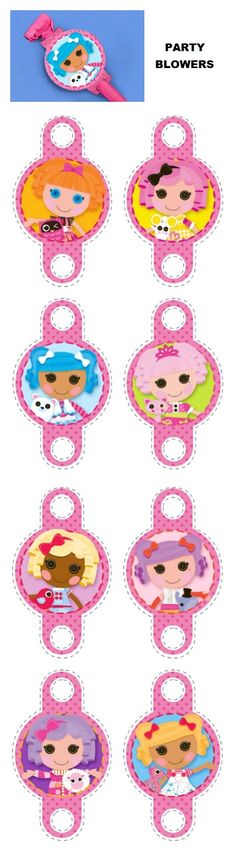 Adding these templates to store bought party blowers is just another way to make your Lalaloopsy party fantastic down to every last stitch! First Birthday Parties, Birthday Party Themes, Party Blowers, Baby Shower Crafts, Lalaloopsy Party, Kids Board, Paper Crafts, Fun Crafts, Holidays And Events
