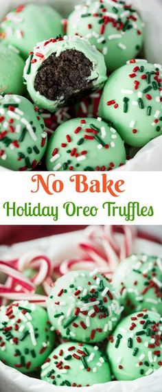sweet outer chocolate shell surrounds a decadent, chocolate Oreo filling. No b A sweet outer chocolate shell surrounds a decadent, chocolate Oreo filling. -A sweet outer chocolate shell surrounds a decadent, chocolate Oreo filling. Holiday Cookies, Holiday Treats, Holiday Recipes, Candy Recipes, Dinner Recipes, Snacks Recipes, Easy Christmas Cookies, Christmas No Bake Treats, Christmas Cupcakes