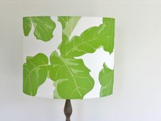 """Tropicali"" ...the Fiddle Leaf Fig lampshade."