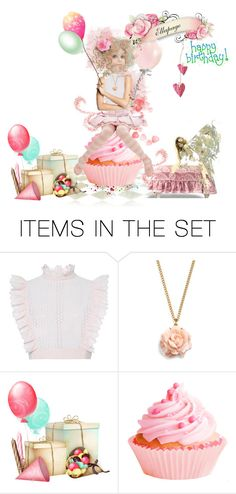 """""""Happy Birthday @ellapage"""" by glitterlady4 ❤ liked on Polyvore featuring art"""