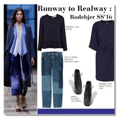 """Runway to Realway"" by igedesubawa ❤ liked on Polyvore featuring Tommy Hilfiger, Rodebjer and Jeffrey Campbell"