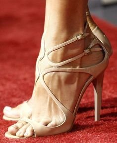 """Jimmy Choo """"Lance"""" - I have this in the gold and love it!"""