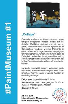"#1 ""Collage"" #PaintMuseum"
