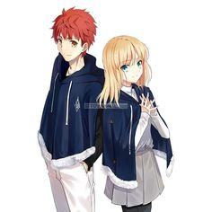 Fate Zero, Anime Couples Manga, Manga Anime, Shirou Emiya, Y Image, Arturia Pendragon, Fate Stay Night Anime, Anime Stories, Cool Anime Guys