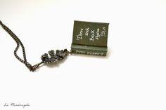 The Hobbit Book Necklace by La Mandragola