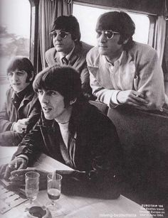 Paul McCartney, John Lennon, Richard Starkey, and George Harrison