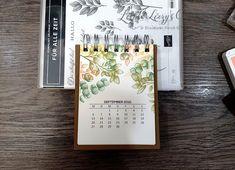 Kalender 2021 beim 3D Paper Trimmer Blog Hop Dezember 2020 - Thema: Willkommen 2021 Paper Trimmer, Stampin Up, Blog, Heartfelt Creations, Crafts, Book Folding, December, Advent Calenders, Stamps