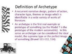 archetypes: defined and explained with examples essay Figurative language • archetypes •  are representatives or perfect example of a type of person  (definition of man) in part, the article aims to.