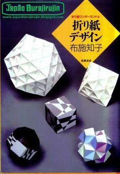 Tomoko Fuse - Origami Modular 1 - Obra de Tomoko Fuse, um grande origamista.