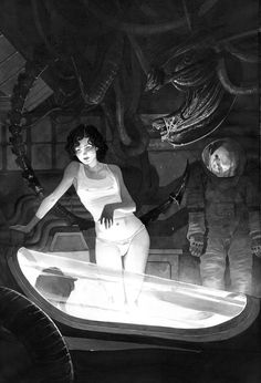 Alien by Dimitri Armand