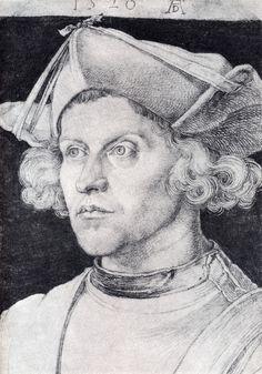 Albrecht Dürer - Portrait of an Unknown Man