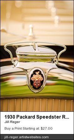1930 Packard Speedster, Packard Hood Ornament