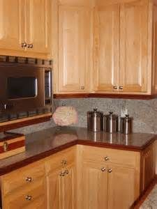"Kitchen Cabinets Maple this is a good example of a stain grade (maple) cabinet with ""full"