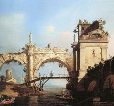 Bernardo Bellotto, Canaletto, vedute di Roma antica - views of ancient Rome