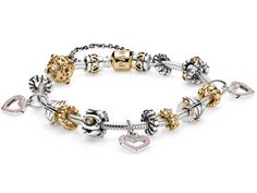Already Made Pandora Bracelets   Show her how much you care with this gorgeous PANDORA bracelet with ...