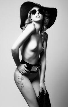 Fashion photo by Jordi Morgadas Erotic Photography, Love Tattoos, Fashion Photo, Boobs, Sexy Women, Black And White, Womens Fashion, Swimwear, Color