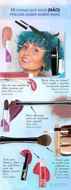 10 coisas que você (não) precisa saber sobre make #beleza #carlabiriba #maquiadores #maquiagem #tutorial