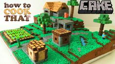 Minecraft cake village  Recipe: http://howtocookthat.net How To Cook That Channel: http://youtube.com/howtocookthat Hi I am Ann, How to Cook Join me...