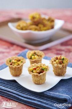 Corn Pie Tee Recipe 玉米杯食谱