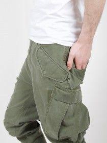 Maharishi Upcycled M65 Rib Cargo Pants Olives