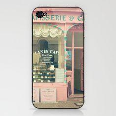 Vintage Pink Café - Iphone Case