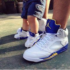 Dope kicks #jordans #baby #laney #5s