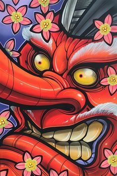 Image of Tengu Giant Tattoo