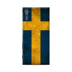Sony Xperia XZ Sweden Flag Case