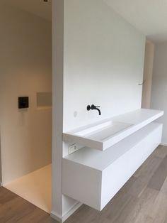 Decor Star 1 Bathroom Faucet Vessel Vanity Sink Pop Up Drain Stopper Without Overflow Brushed Nickel - Top Bathroom Designs Bad Inspiration, Bathroom Inspiration, Bathroom Toilets, Bathroom Faucets, Family Bathroom, Small Bathroom, Lavabo Corian, Ideas Baños, Reno Ideas