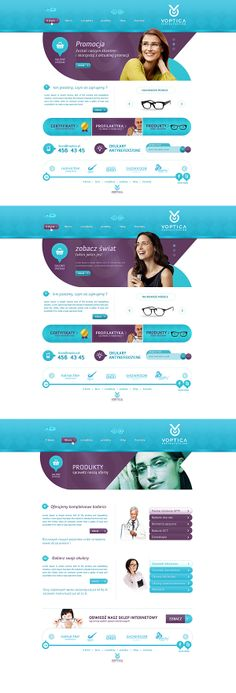 Design for for healthcare can become stagnant. Here, a modern take. VOPTICA by Piotr Miśkiewicz, via Behance