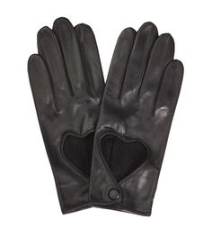 Heart Driving Glove Black Minna Parikka