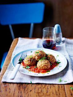 Roasted fennel & pine nut polpette | Jamie Oliver | Food | Jamie Oliver (UK)